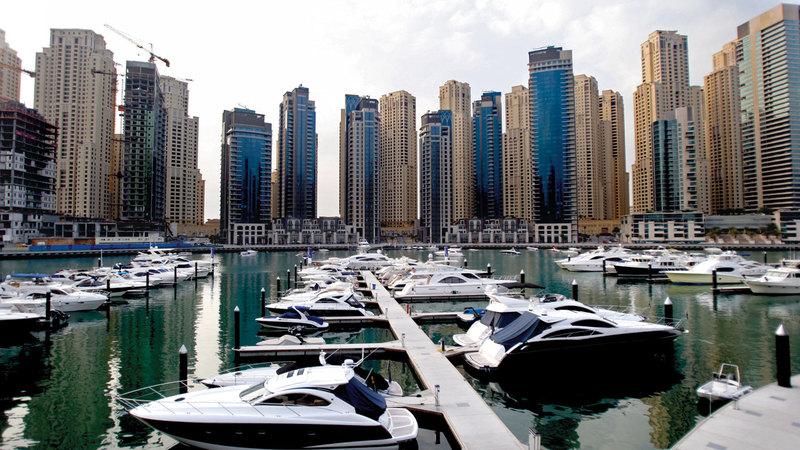 دبي تتمتع بإمكانات بحرية لوجستية عالمية المستوى. تصوير: باتريك كاستيلو