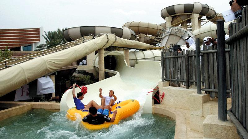 «وايلد وادي» و«أكوافنتشر» و«لاجونا ووتر بارك»  من الإضافات المهمة إلى قائمة المنشآت السياحية.
