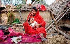 الصورة: 132 قرية هنــدية لم تنجب أي بنت منذ 3 أشهر
