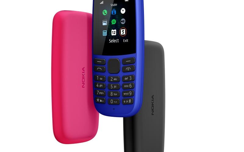 الصورة: الجيل الرابع من (Nokia 105) يأتي بتصميم عصري وإمكانيات متعددة