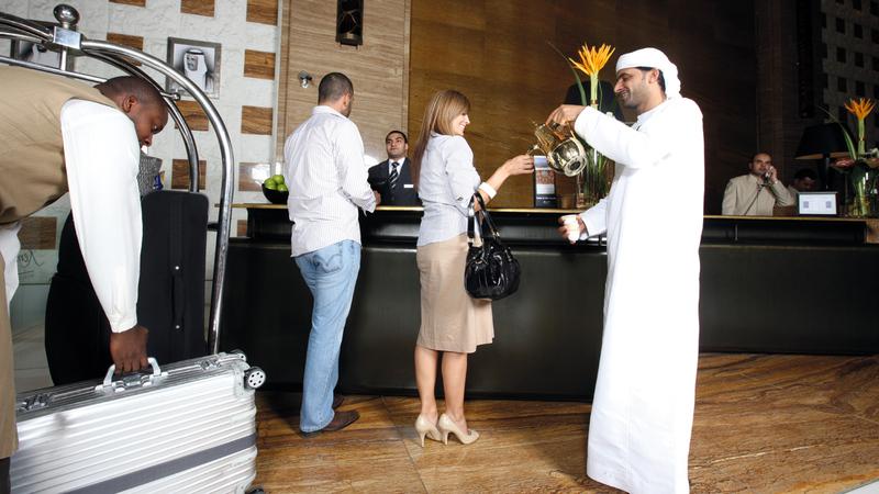 الأعياد تتسم بأهمية بالغة في ما يتعلق بتحسين أداء القطاع الفندقي.  أرشيفية