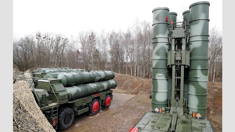 نظام إس 400 الروسي أحد أكبر أسباب الخلاف بين أنقرة وواشنطن.  رويترز
