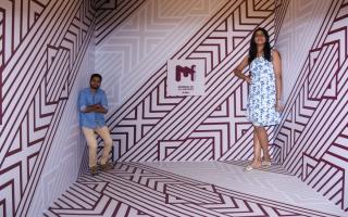 الصورة: متحف الغموض في دبي