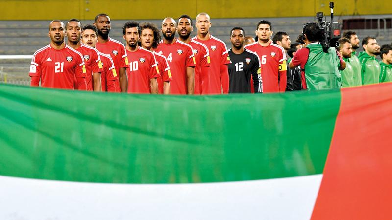 عدد كبير من لاعبي المنتخب الوطني تجاوزوا الـ30 من عمرهم. تصوير: باتريك كاستيلو