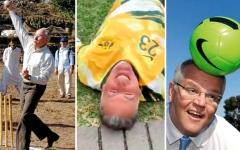 الصورة: وزير رياضة حالي ورؤساء حكومة أستراليون سابقون فاشلون في الرياضة