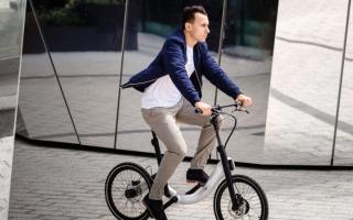 الصورة: «جيفر» تطلق دراجة كهربائية قابلة للطي