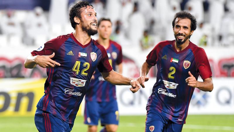 الوحدة يرغب في العودة من الرياض بنتيجة إيجابية. تصوير: إريك أرازاس