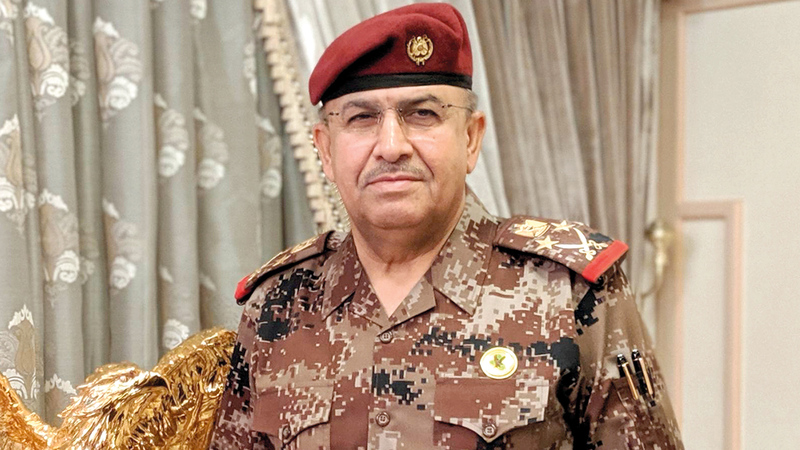 الجنرال الكناني محارب مخضرم وقائد «الفرقة الذهبية». أرشيفية