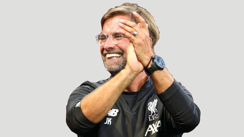مدرب ليفربول: الالماني يورغن كلوب. رويترز
