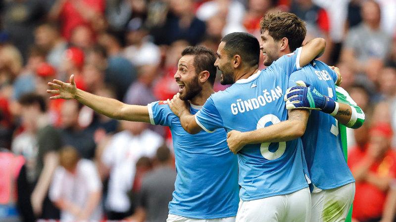 مانشستر سيتي يخطف «الدرع» ليفربول