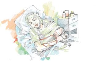 الصورة: متبرّع يسدد 8466 درهماً كلفة علاج  «أم محمد» لمدة عام