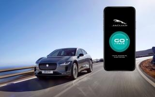 الصورة: حاسبة المدى الرقمية وتطبيق Go I-PACE يعززان امتلاك سيارة I-PACE
