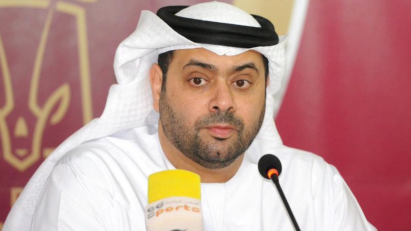 أحمد الرميثي: «سنكون إلى جوار المشجعين يداً بيد، للشد من أزر اللاعبين الذين كانوا على الوعد».
