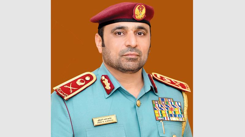 اللواء جاسم محمد المرزوقي: «رفع نسبة الجاهزية لتقديم أفضل الخدمات للحفاظ على الأرواح والممتلكات».