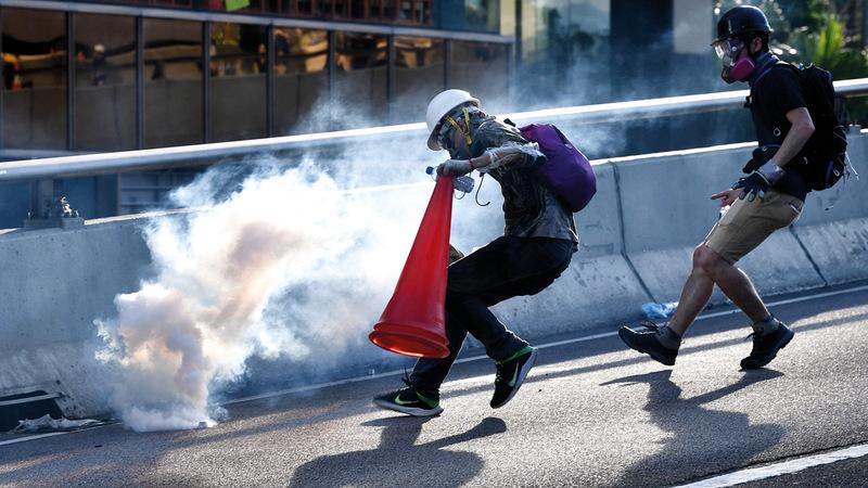ليس من السهل مواجهة حركة الاحتجاج قبل تنفيذ مطالبها. أ.ف.ب