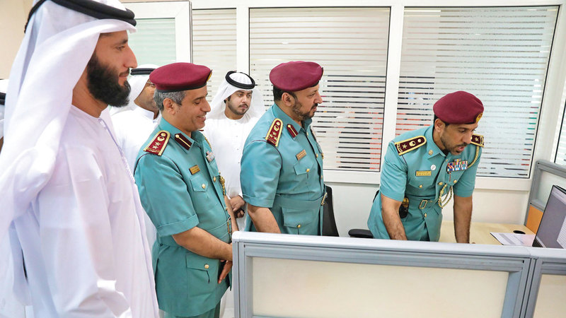 خلال إطلاق المنظومة لتعزيز الخدمات المقدمة للنزلاء والمحكومين في عجمان. من المصدر
