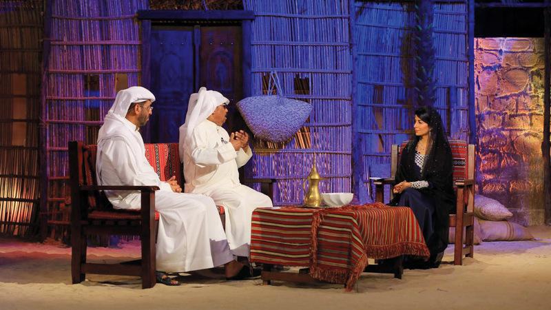 «البراحة» سلط الضوء مع ضيوفه على التراث الإماراتي بمختلف جوانبه. من المصدر
