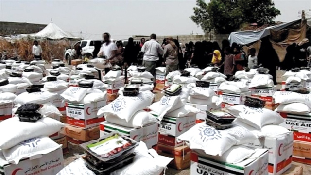 Eid clothing and UAE food aid for West Coast residents