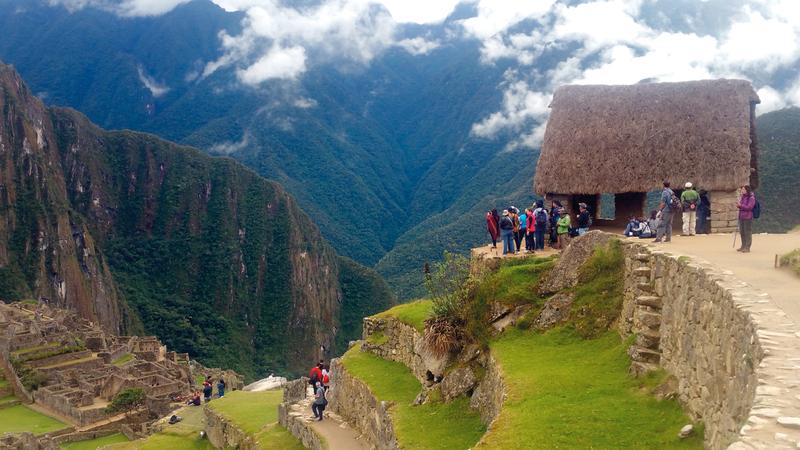 المنطقة تدرّ دخلاً كبيراً من السياحة في بيرو. د.ب.أ