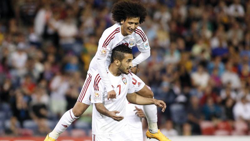 عمر عبدالرحمن سيشكل مع علي مبخوت  ثنائي هجومي ضارب.