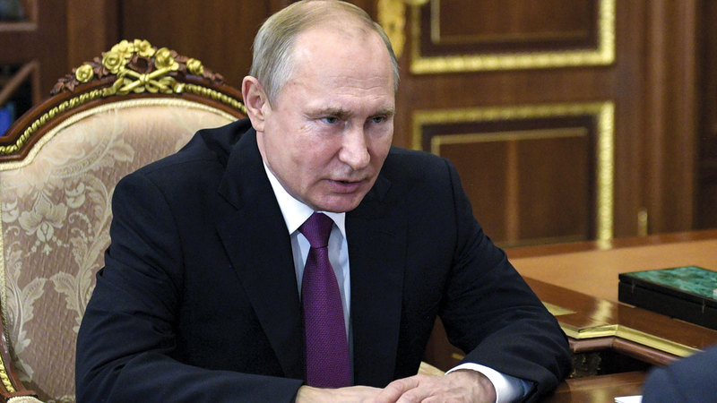 بوتين ليس مصدر كل المخاوف الأمنية. أ.ب