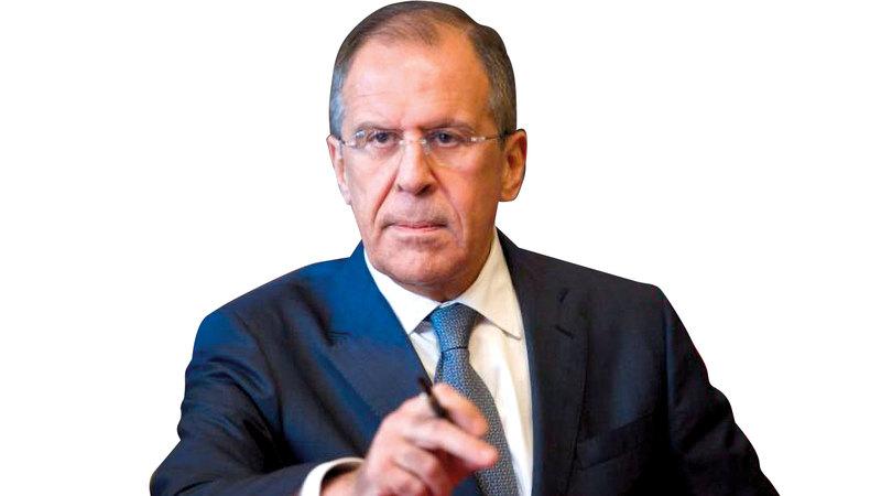 سيرغي لافروف يرفض العودة إلى العمل كالمعتاد مع أوروبا لأن روسيا مسيحية للغاية.  أرشيفية
