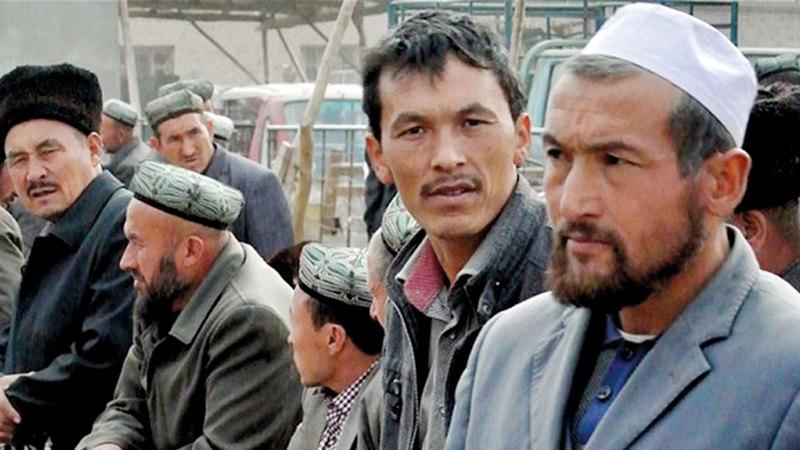 مسلمو اليوغور يواجهون الاضطهاد منذ عشرات السنين.  أ.ف.ب