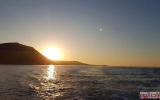 الصورة: البحيرة الزرقاء في مياه اكاماس ..ايقونة سواحل قبرص