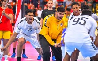 الصورة: مصر إلى نهائي كأس العالم لكرة اليد