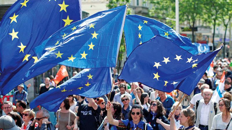 الخروج من أوروبا دون اتفاق يهدد بتفكيك الاتحاد البريطاني. أرشيفية