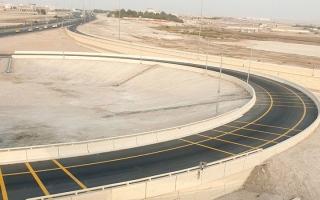 إنجاز الطريق الالتفافي على جسر المفرق