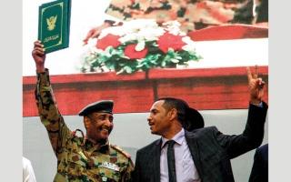 الصورة: السودان: «الحرية والتغيير» تحسم أسماء مرشحيها للمجلس السيادي