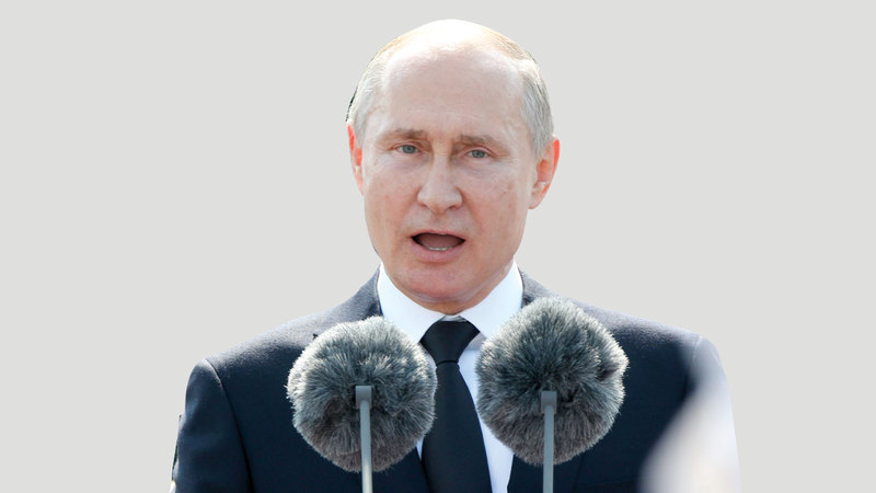 بوتين أصبح أكبر سناً واحتمال مرضه وعجزه أكبر.  غيتي