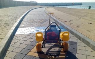 الصورة: 10 ممرات لأصحاب الهمم على شواطئ أبوظبي