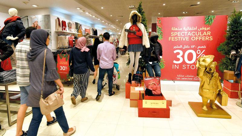 قصر فترة الاستبدال تجعل المستهلك يتردد في الشراء من المحل التجاري. أرشيفية