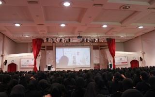 الصورة: لقاء تعريفي لأكثر من 6 آلاف طالب وطالبة جدد بكليات التقنية العليا