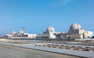 تشغيل محولات الطاقة للمحطة الثالثة في «براكة» لاختبار الأداء الحراري