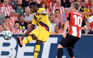 الإصابة تبعد ديمبيلي عن برشلونة 5 أسابيع