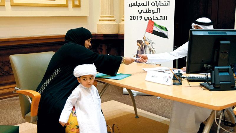85 طلب ترشح تسلمتها اللجان الانتخابية على مستوى الدولة في اليوم الرابع لفتح باب التسجيل.تصوير: يوسف الهرمودي
