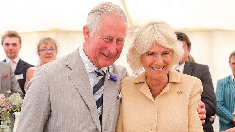 الأمير تشارلز مع زوجته الثانية وصديقته طويلة الأجل كاميلا. غيتي