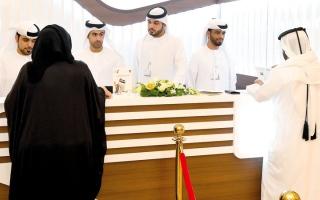الصورة: موظفون ومتقاعدون وعسكريون بين المترشحين لـ «الوطني» في دبي