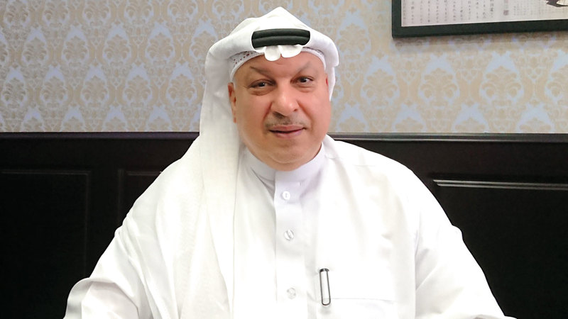 ناصر الخميس: «(الشركة) ملتزمة بإنجاز مشروعاتها كافة، وفق الجدول الزمني المحدد».