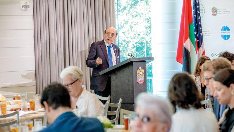 نسيبة: إرث الشيخ زايد يستمر اليوم من خلال جهود قيادتنا الدبلوماسية. من المصدر