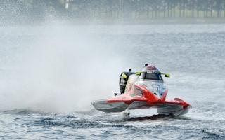 الصورة: «زوارق الإمارات» في مهمة الحفاظ على صدارة مونديال الفورمولا 2 بإيطاليا