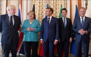 الصورة: انطلاق قمة مجموعة الدول الصناعية السبع وسط خلافات عميقة بين قادتها