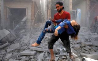 الصورة: الأمم المتحدة تساعد سورية على قصف المعارضة