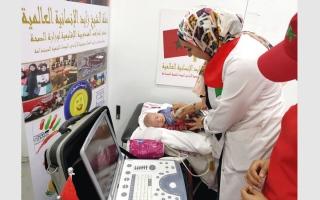 الصورة: «زايد الإنسانية» تداوي مئات المرضى في قرى مغربية