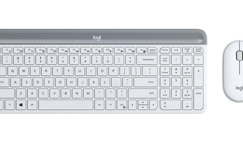الصورة: «لوجيتيك» تكشف عن لوحة مفاتيح وفأرة لاسلكيتين