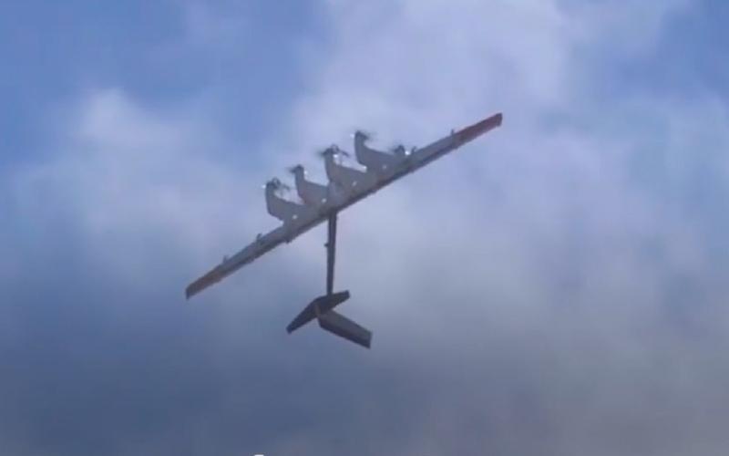 الصورة: بالفيديو.. طائرة تركب التيارات الهوائية لتوليد الكهرباء
