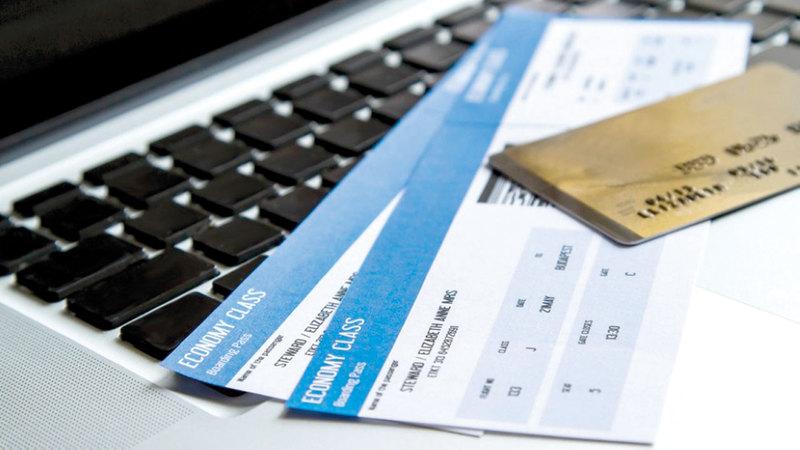 معدلات تراجع أسعار التذاكر طالت الوجهات الإقليمية التي تشهد ازدحاماً. أرشيفية